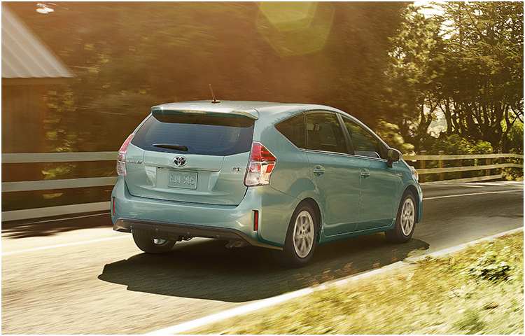 2017 Toyota Prius v Exterior Styling