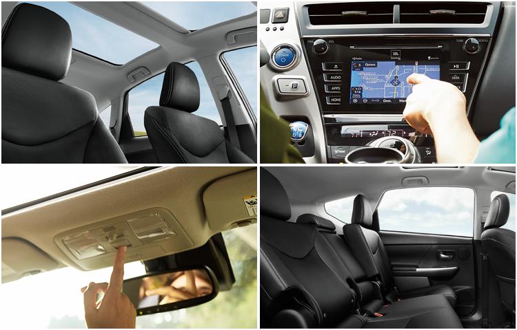 2017 Toyota Prius v Interior Styling
