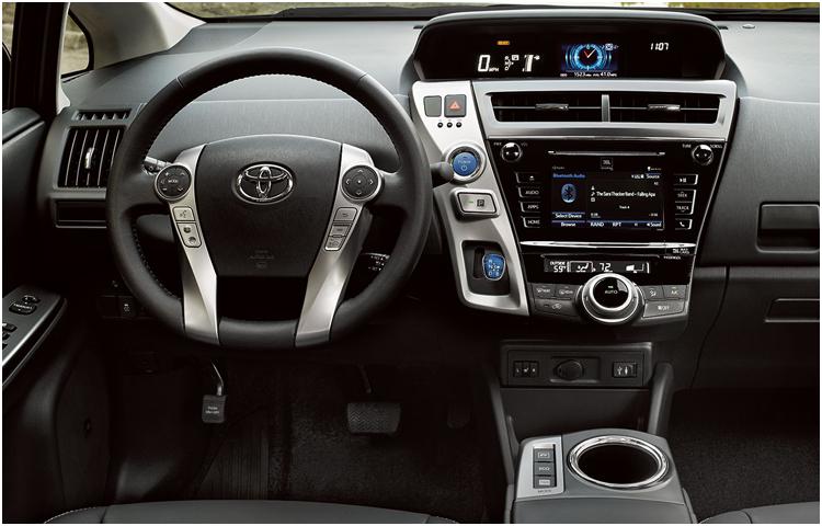 2017 Prius v Interior Styling