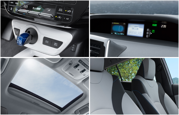 2017 Toyota Prius Interior Styling
