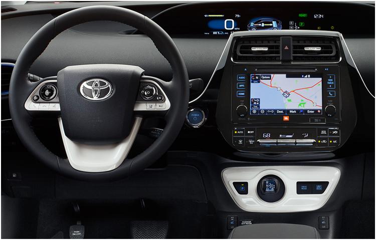 2017 Prius Interior Styling