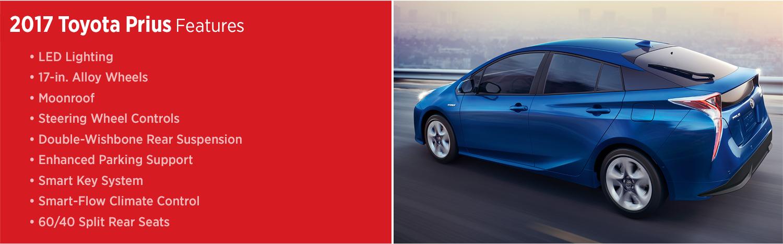 2017 Toyota Prius Features