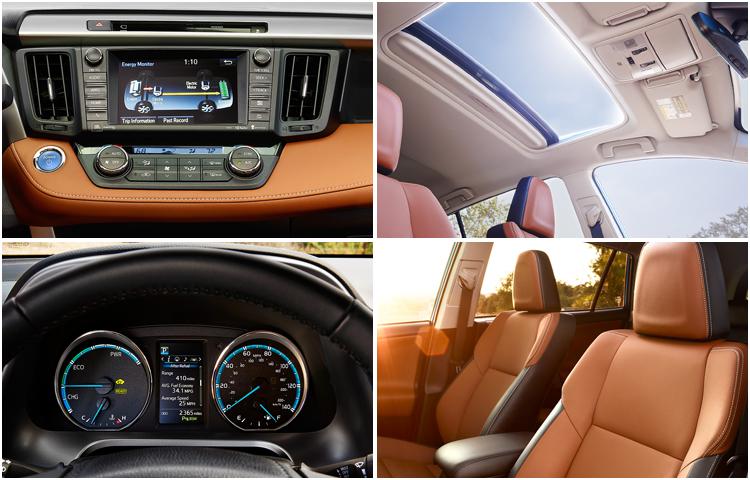 2017 Toyota RAV4 Hybrid Interior Styling