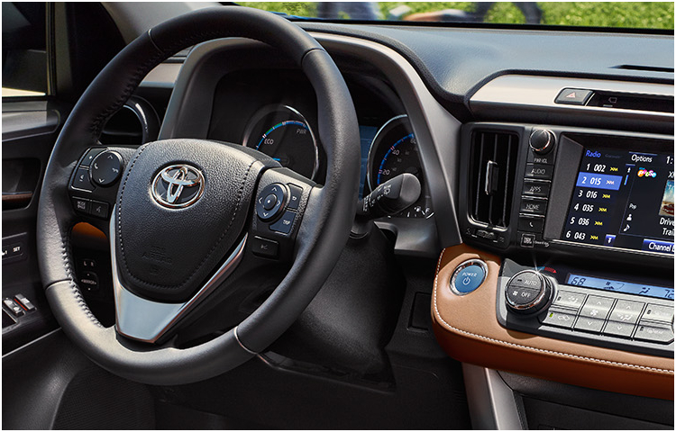 2017 RAV4 Hybrid Interior Styling