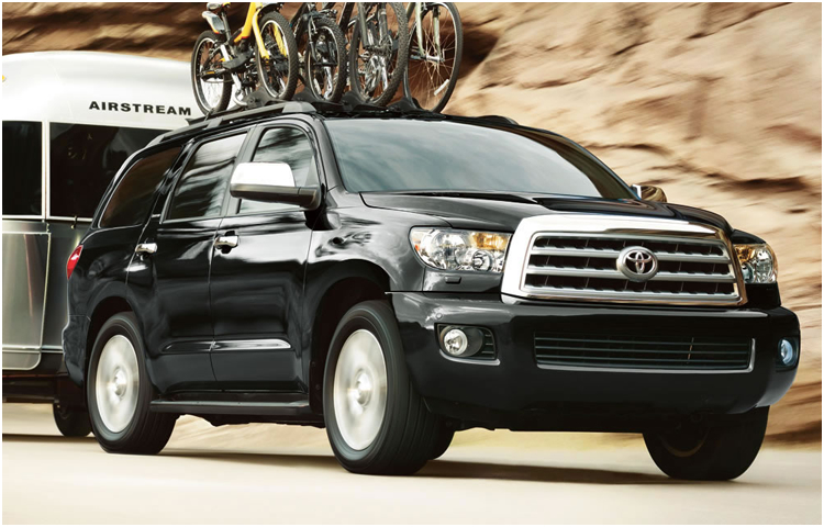 2017 Toyota Sequoia Exterior Styling