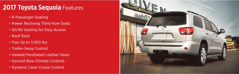 2017 Toyota Sequoia Features