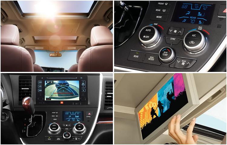2017 Toyota Sienna Interior Styling