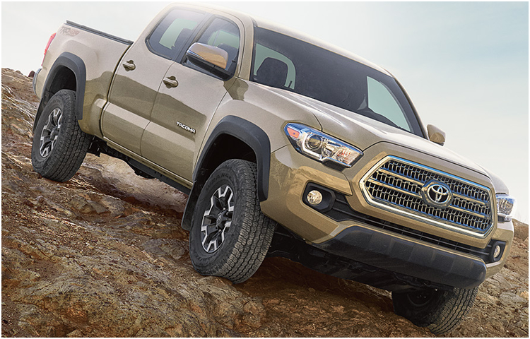 2017 Toyota Tacoma Exterior Styling