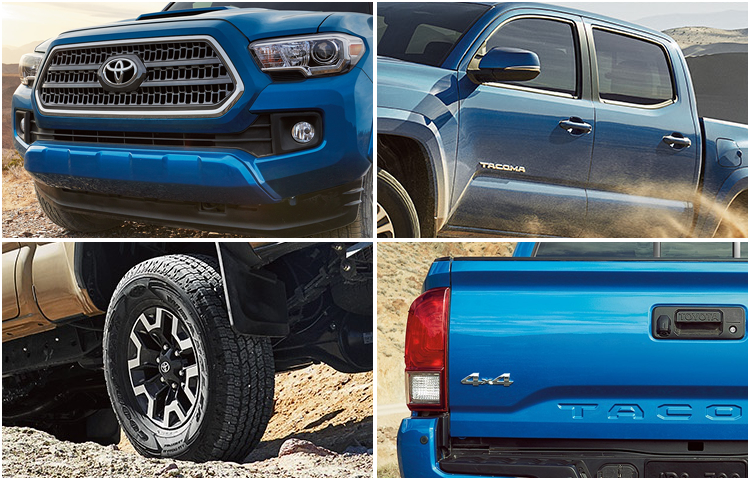 2017 Tacoma Exterior Styling