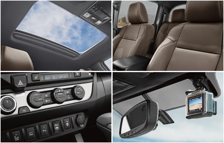 2017 Toyota Tacoma Interior Styling