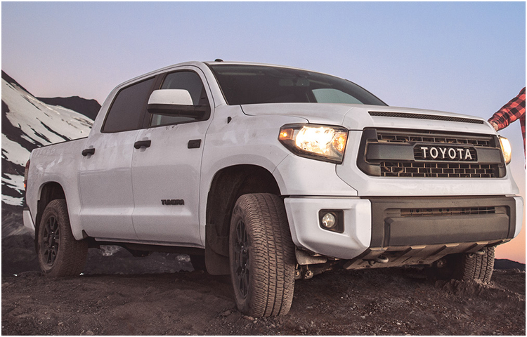 2017 Toyota Tundra Exterior Styling
