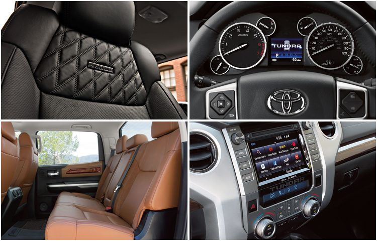 2017 Toyota Tundra Interior Styling