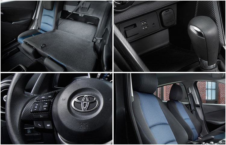 New 2017 Toyota Yaris iA Model Interior Styling