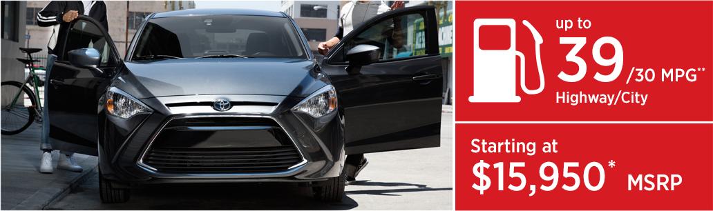 2017 Toyota Yaris iA MSRP