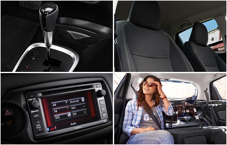 2017 Toyota Yaris Interior Styling