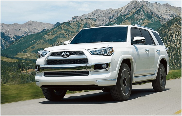 Research the 2018 Toyota 4Runner exterior