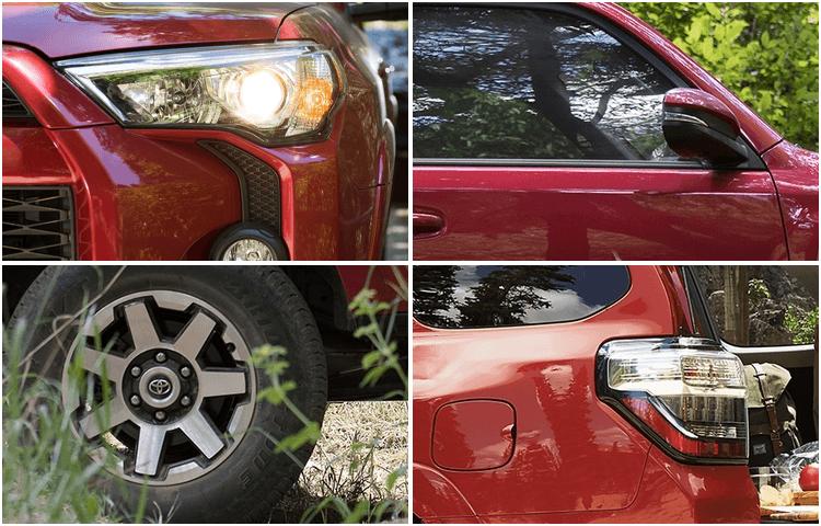 2018 Toyota 4Runner exterior features