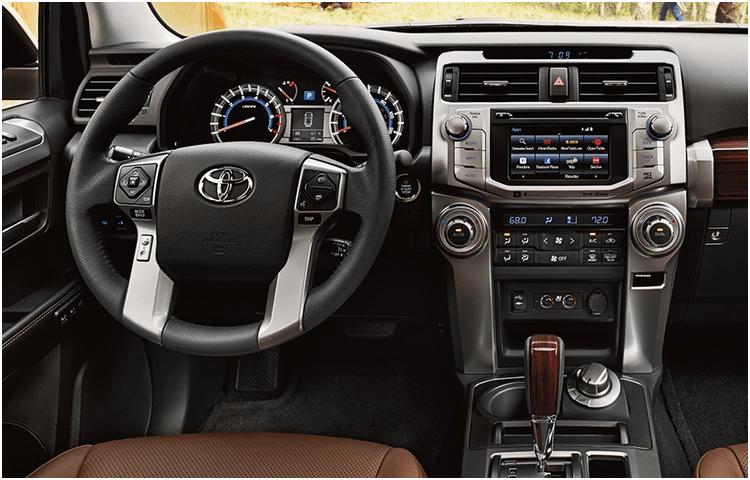 2018 Toyota 4Runner interior design