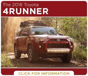 Click to research the 2018 4Runner model at Titus Will Toyota in Tacoma, WA