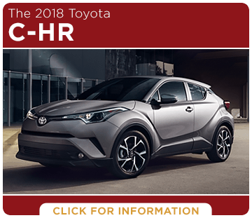 Click to learn more about the new 2018 Toyota C-HR model