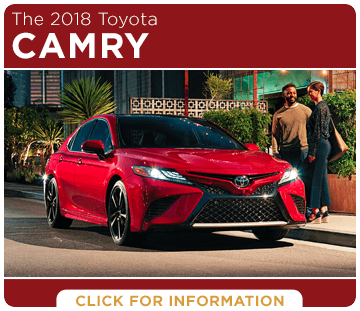 Click to learn more about the new 2018 Toyota Camry model