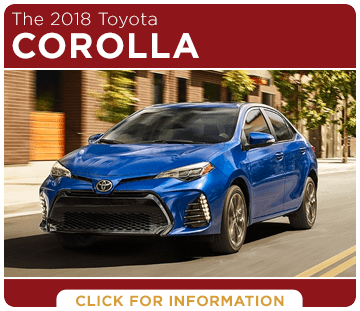 Click to research the 2018 Corolla model at Titus Will Toyota in Tacoma, WA