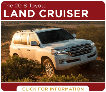 Click to research the 2018 Land Cruiser model at Titus Will Toyota in Tacoma, WA