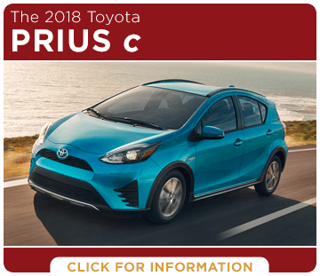 Click to research the 2018 Prius c model at Titus Will Toyota in Tacoma, WA