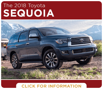 Click to learn more about the new 2018 Toyota Sequoia model