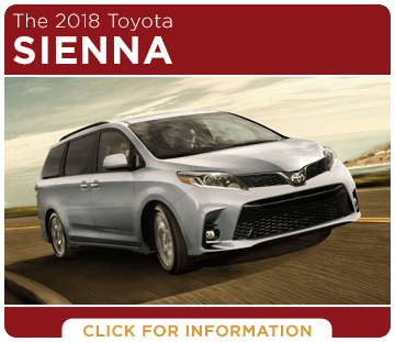 View our 2018 Sienna model information at Capitol Toyota in Salem, OR