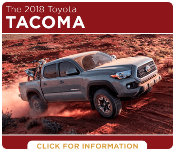 Browse our 2018 Tacoma model information at Capitol Toyota in Salem, OR