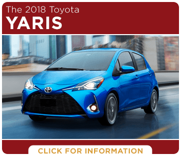Click to learn more about the new 2018 Toyota Yaris model