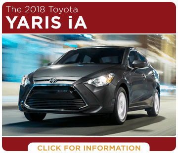 Click to research the 2018 Yaris iA model at Titus Will Toyota in Tacoma, WA