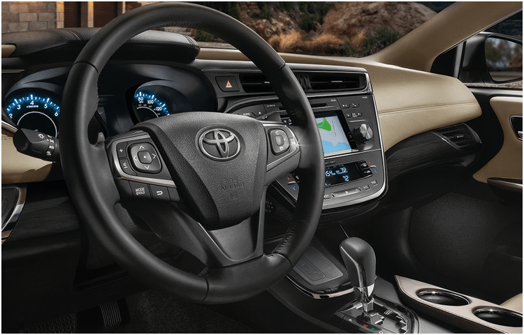2018 Avalon Hybrid Model Interior Styling