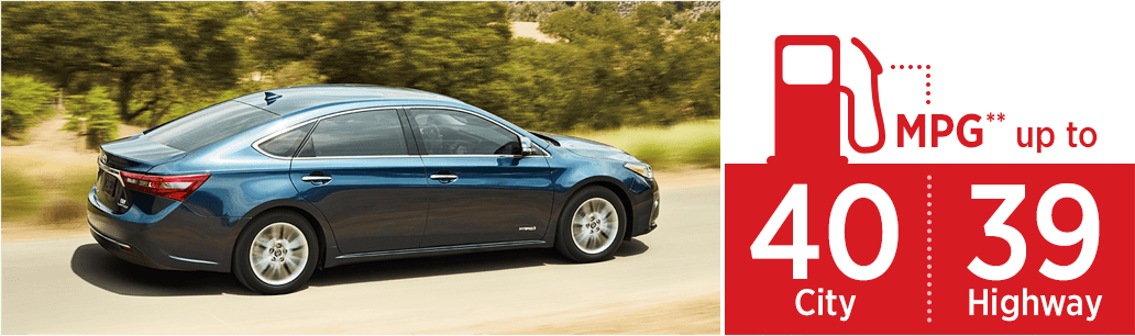 2018 Toyota Avalon Hybrid model pricing & fuel mileage