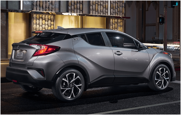 New 2018 Toyota C-HR Model Exterior Styling