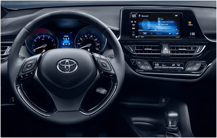 2018 C-HR Model Interior Styling