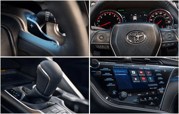 New 2018 Toyota Camry Hybrid Model Interior Styling
