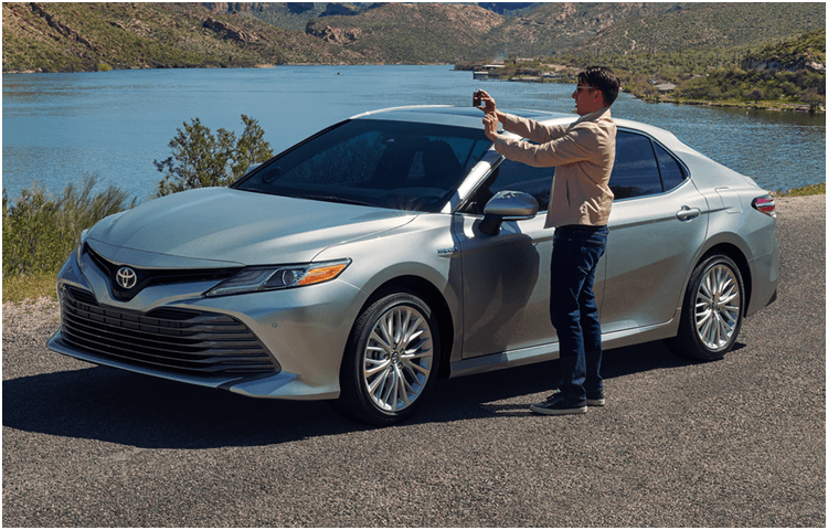New 2018 Toyota Camry Model Exterior Styling