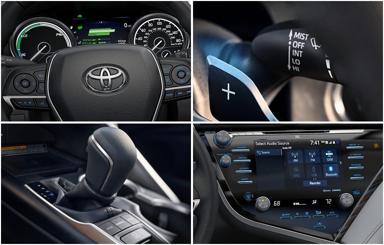 New 2018 Toyota Camry Model Interior Styling