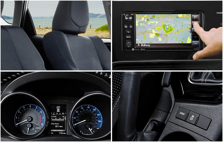 2018 Toyota Corolla iM interior design