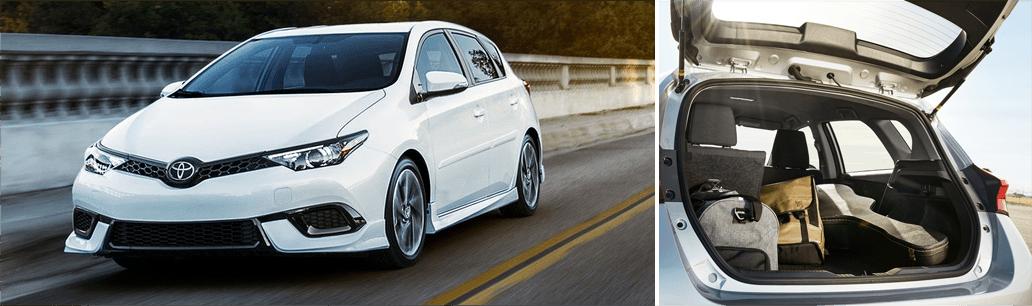 2018 Toyota Corolla iM model MSRP & Fuel Mileage