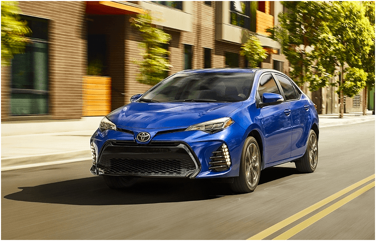 Research the 2018 Toyota Corolla exterior