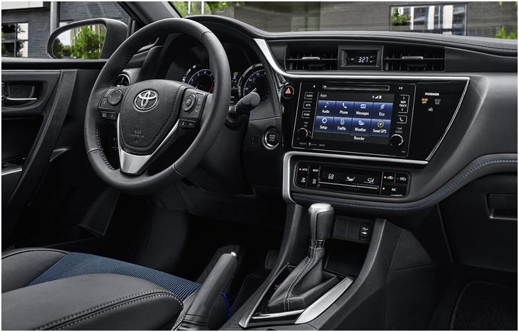 2018 Toyota Corolla interior design