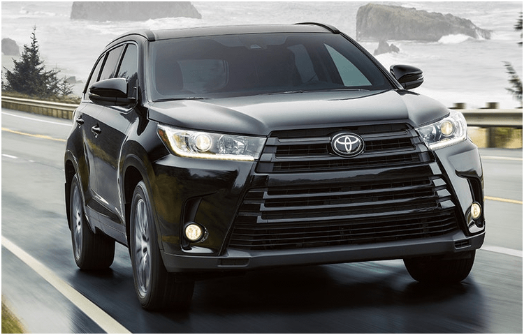 New 2018 Toyota Highlander Model Exterior Styling