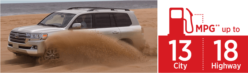 2018 Toyota Land Cruiser model MSRP & MPG