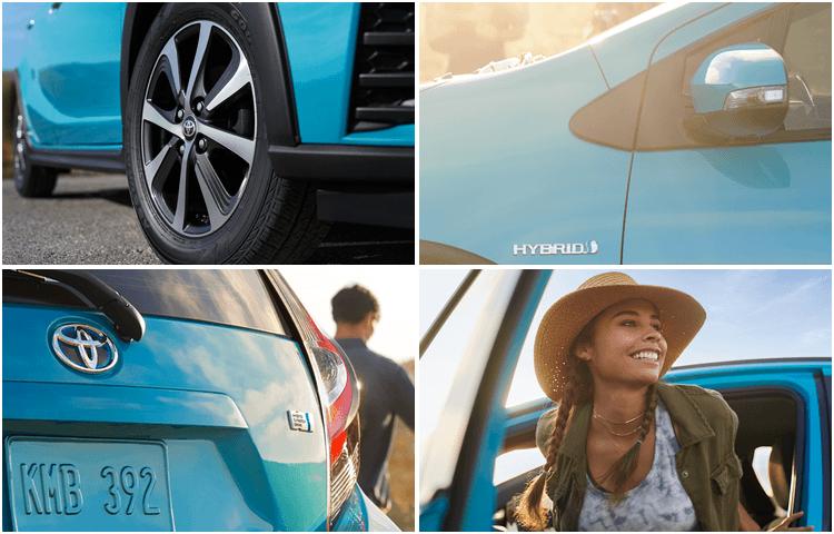 2018 Toyota Prius c exterior design