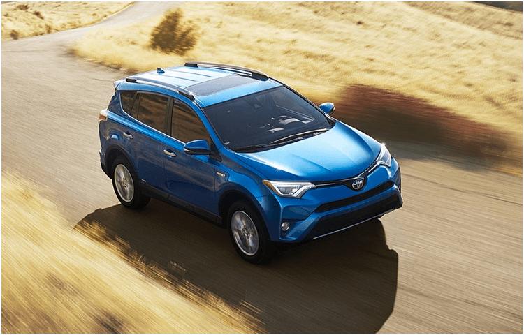 New 2018 Toyota RAV4 Hybrid Model Exterior Styling