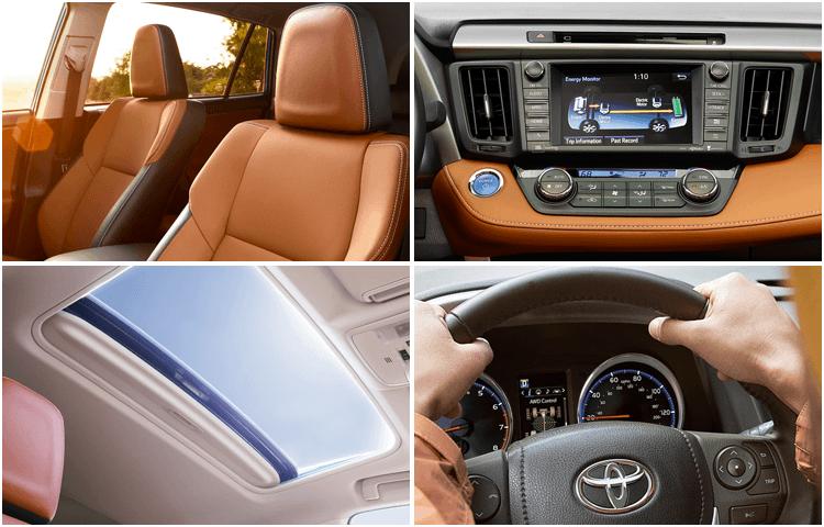 New 2018 Toyota RAV4 Hybrid Model Interior Styling