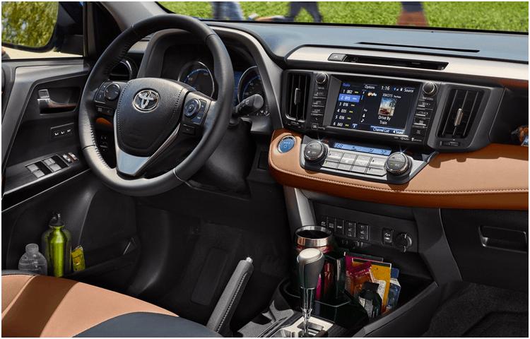 2018 RAV4 Hybrid Model Interior Styling